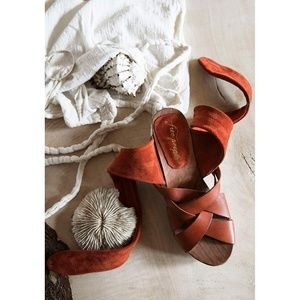 NEW! -  Emmy Ankle Wrap Sandal FREE PEOPLE